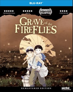 Grave of the Fireflies Blu-ray Box Art