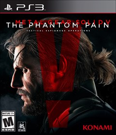 Metal Gear Solid V: The Phantom Pain PlayStation 3 Box Art