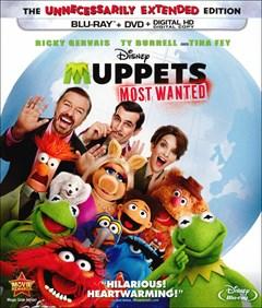 Muppets Most Wanted Blu-ray Box Art