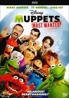 Muppets Most Wanted DVD Box Art