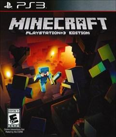 Minecraft PlayStation 3 Box Art
