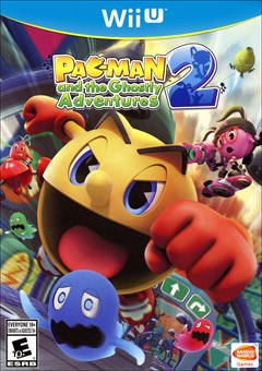 PAC-MAN and the Ghostly Adventures 2 Wii U Box Art