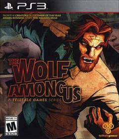 The Wolf Among Us PlayStation 3 Box Art