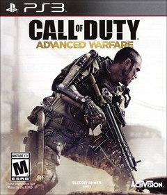 Call of Duty: Advanced Warfare PlayStation 3 Box Art