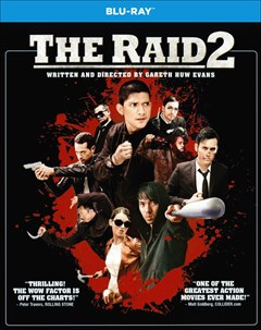 The Raid 2 Blu-ray Box Art