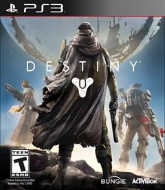 Destiny PlayStation 3 Box Art