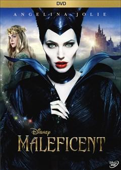 Maleficent DVD Box Art