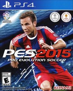 Pro Evolution Soccer 2015 PlayStation 4 Box Art