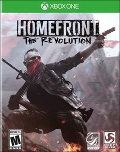 Homefront: The Revolution Xbox One Box Art