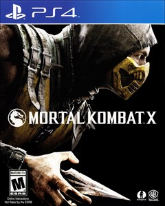 Mortal Kombat X PlayStation 4 Box Art