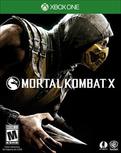 Mortal Kombat X Xbox One Box Art