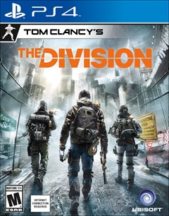 Tom Clancy's The Division PlayStation 4 Box Art