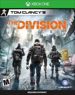 Tom Clancy's The Division Xbox One Box Art