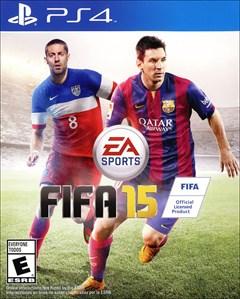 FIFA 15 PlayStation 4 Box Art