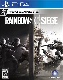 Tom Clancy's Rainbow Six: Siege PlayStation 4 Box Art