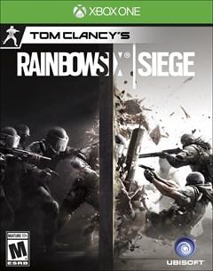 Tom Clancy's Rainbow Six: Siege Xbox One Box Art