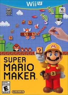 Super Mario Maker Wii U Box Art