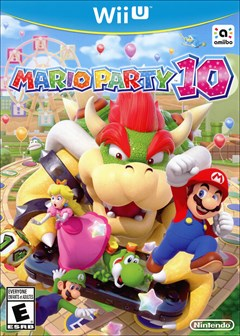 Mario Party 10 Wii U Box Art