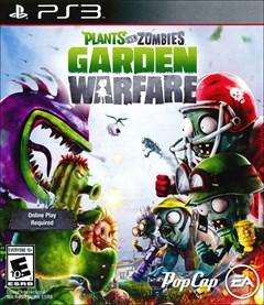 Plants vs. Zombies: Garden Warfare PlayStation 3 Box Art