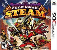Code Name: S.T.E.A.M. Nintendo 3DS Box Art