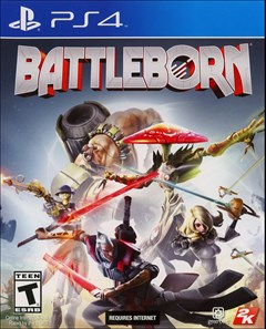 Battleborn PlayStation 4 Box Art