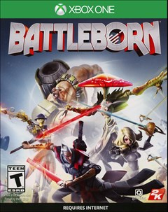 Battleborn Xbox One Box Art