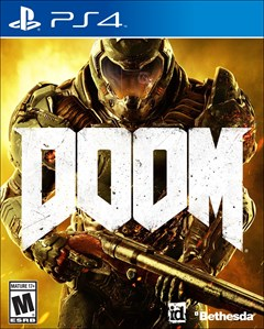 Doom PlayStation 4 Box Art