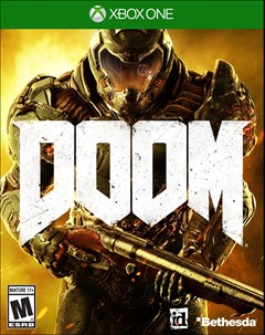 Doom Xbox One Box Art