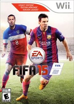 FIFA 15 Wii Box Art