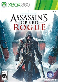 Assassin's Creed: Rogue Xbox 360 Box Art