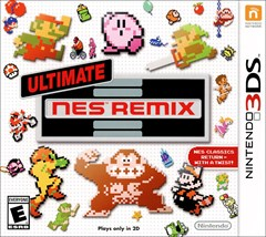Ultimate NES Remix Nintendo 3DS Box Art