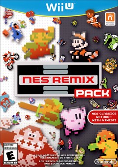 NES Remix Pack Wii U Box Art