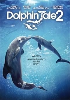 Dolphin Tale 2 DVD Box Art