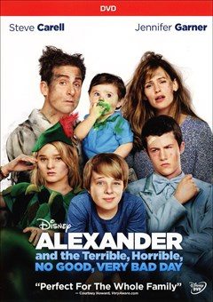 Alexander and the Terrible, Horrible, No Good, Very Bad Day DVD Box Art