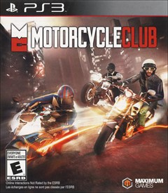 Motorcycle Club PlayStation 3 Box Art