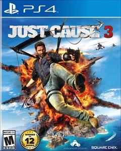 Just Cause 3 PlayStation 4 Box Art