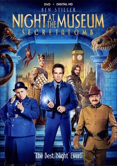 Night at the Museum: Secret of the Tomb DVD Box Art