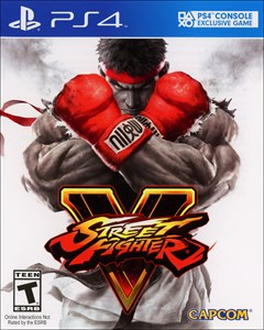 Street Fighter V PlayStation 4 Box Art