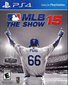 MLB 15: The Show PlayStation 4 Box Art