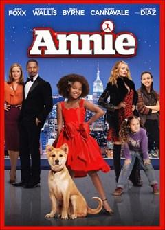 Annie DVD Box Art