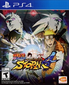 Naruto Shippuden: Ultimate Ninja Storm 4 PlayStation 4 Box Art
