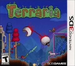 Terraria Nintendo 3DS Box Art