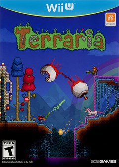 Terraria Wii U Box Art