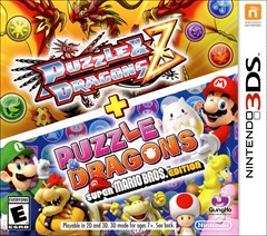 Puzzle & Dragons: Z + Super Mario Bros. Edition Nintendo 3DS Box Art
