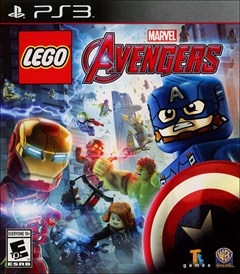 LEGO: Marvel's Avengers PlayStation 3 Box Art