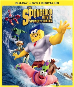 The SpongeBob Movie: Sponge Out of Water Blu-ray Box Art