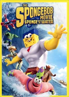 The SpongeBob Movie: Sponge Out of Water DVD Box Art