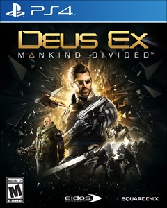 Deus Ex: Mankind Divided PlayStation 4 Box Art