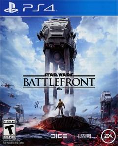 Star Wars: Battlefront PlayStation 4 Box Art