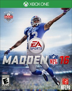 Madden NFL 16 Xbox One Box Art
